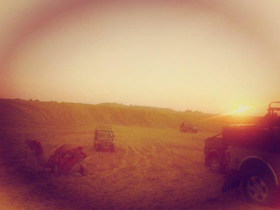 Desert Jeep Safari of Mohin Desert Safari Camp