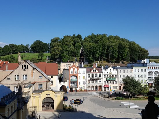 Lower Silesia Province, Poland: panorama miasteczka
