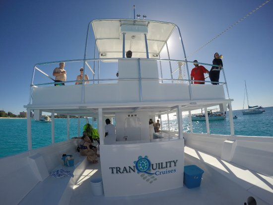 Saint James Parish, Barbados: Our Boat Tranquility Cruises