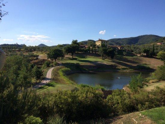 Larciano, Italy: il vicino Golf