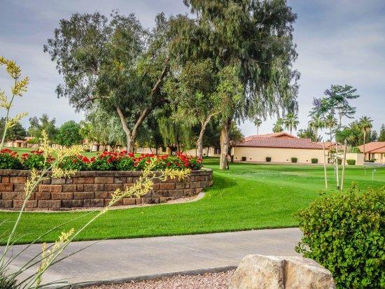 Mesa, AZ: Number 10 tee box