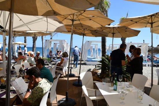 Sotogrande, Spanien: beach club