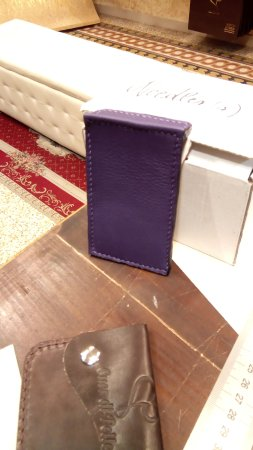 Cuor di Pelle Door card holder ) For wonderstruck people in front of the & Door card holder :) For wonderstruck people in front of the glass :D ...