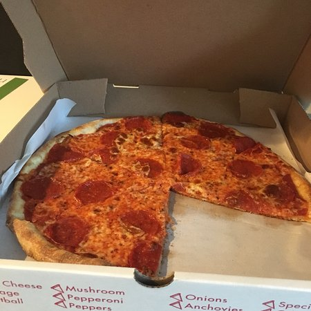 """Mikes Pizza: Pepperoni 12"""" delivery"""