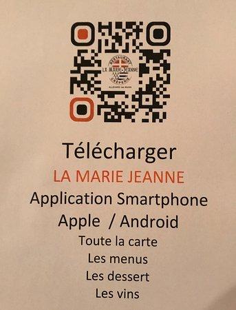 Allevard, فرنسا: l'application mobile LA MARIE JEANNE