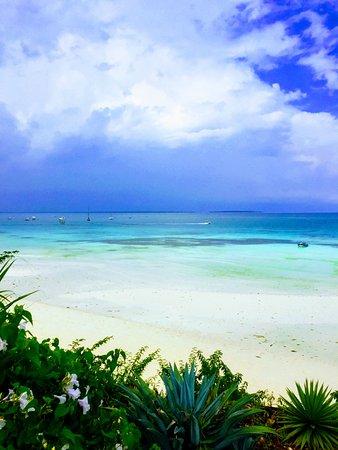 Hotel Riu Palace Zanzibar: utsikt från frukosten