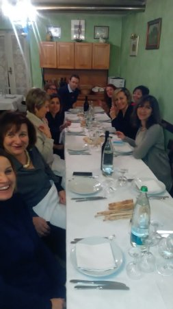Pavarolo, Italy: Una bella serata in compagnia con un fritto misto spettacolare