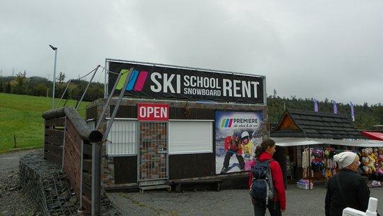 Wysokie Tatry, Słowacja: Learn to ski