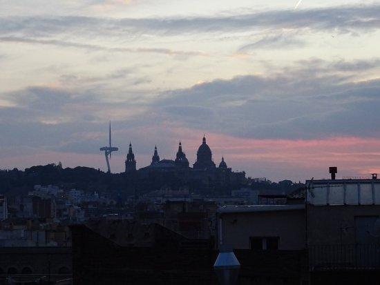 Vistas desde la terraza picture of hotel silken ramblas for La terraza barcelona