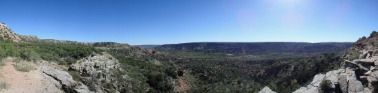 Palo Duro Canyon State Park: panorama
