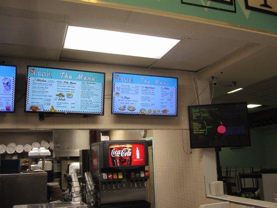 Blaine, MN: Burger Menu Board