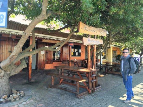 Napier, Güney Afrika: Fachada del Restaurante
