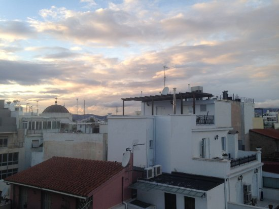 Hermes Hotel: View of sunset from hotel room