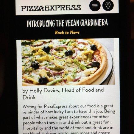 Pizza Express Harpenden The Gatehouse 2 High St Menu