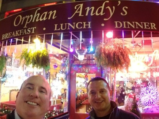 Just outside the restaurant kuva orphan andys 17th st for Andy s chinese cuisine san francisco