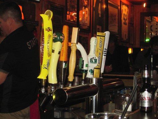 Hudson, Ουισκόνσιν: Beer pulls
