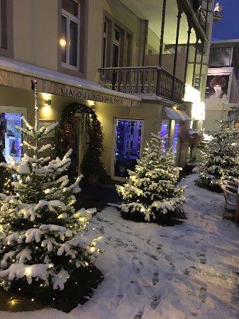 Bad Soden, Germany: Schnee