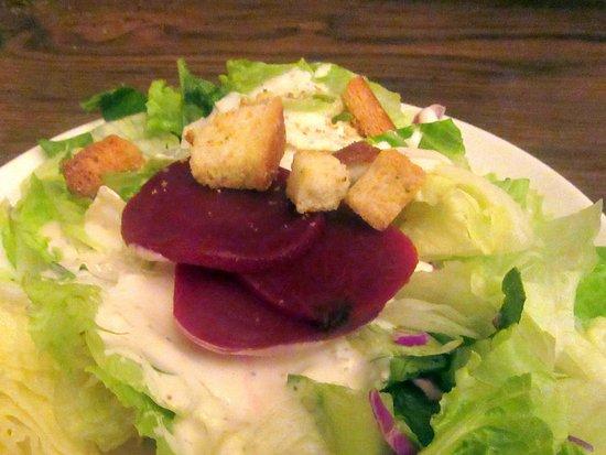 Milpitas, CA: Salad, Casa Azteca Mexican Restaurant, Cambria, Ca