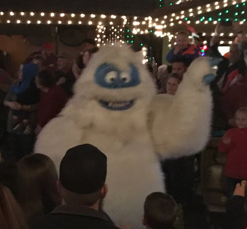 Branson, MO: One of the characters from the parade