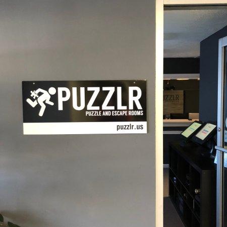 Blacksburg, Вирджиния: Puzzlr Sign