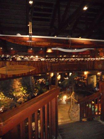Duke's Kauai: canoe middle of Duke's