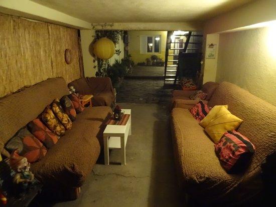 Shanti Hostel: Innenhof