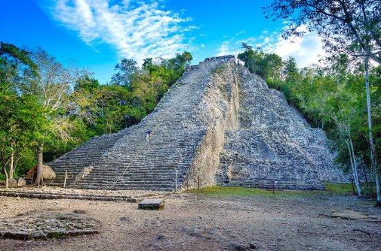4X1アドベンチャー:カンクンからのCoba、Tulum、Cenote、Pl…