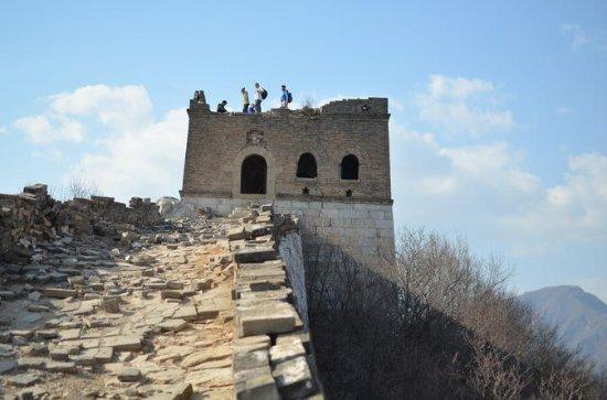 ミニグループ:昼食と武漢の万里の長城ハイキングツアー1日Jiankou