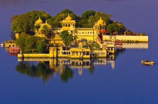 Golden Triangle Tour med Udaipur