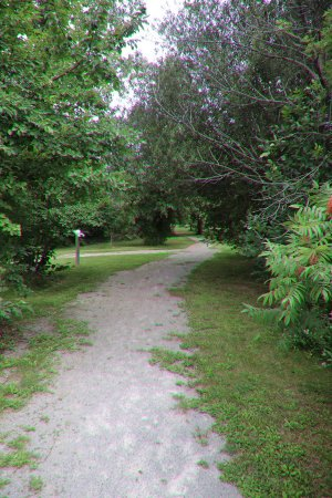 St. Catharines, Canada: The path at the front