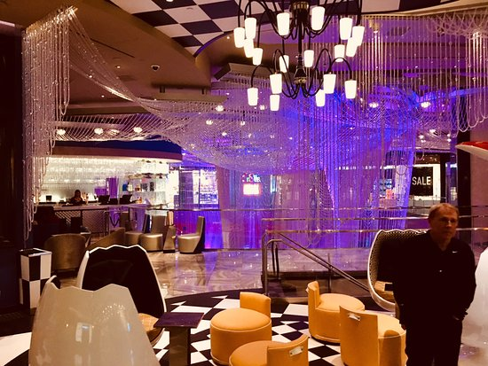 The chandelier bar picture of chandelier lounge las vegas chandelier lounge the chandelier bar aloadofball Gallery