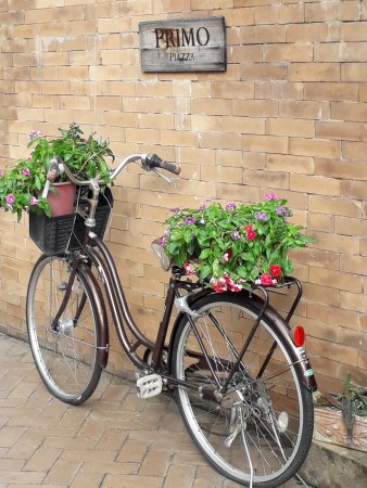 bicycle decor - Picture of Primo Piazza, Nakhon Ratchasima