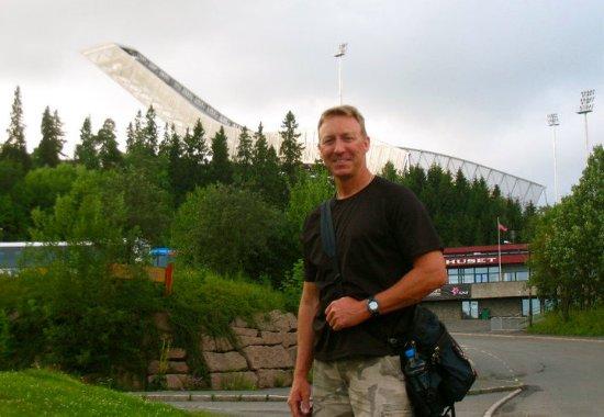 Musée du ski de Holmenkollbakken : Holmenkollen overlooking Oslo