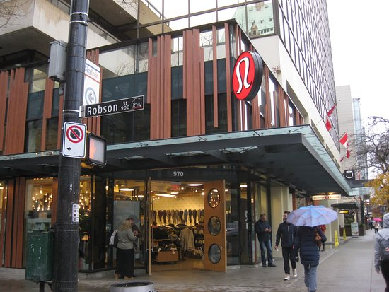 Robson St. store, Vancouver.