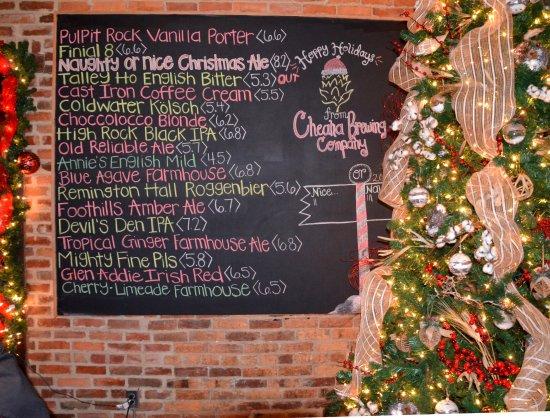 Anniston, AL: Brew Board