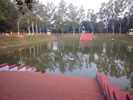 In the garden foto di venu vana kalandakanivapa rajgir for Koi pond traduzione