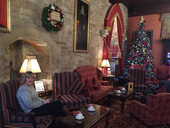 Langley Castle Restaurant: The Christmas Tree