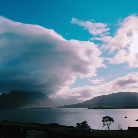 Isle of Raasay Distillery: beautiful view from Raasay