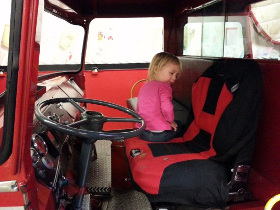 FireZone : Check this out! The front cab of the hook & ladder apparatus