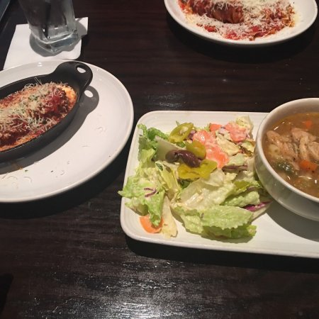 vegan options at carrabbas