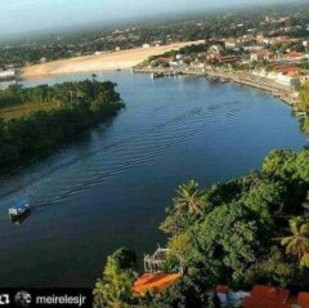 Barreirinhas, MA: IMAGEM DO RIO PREGUIÇAS AERIA