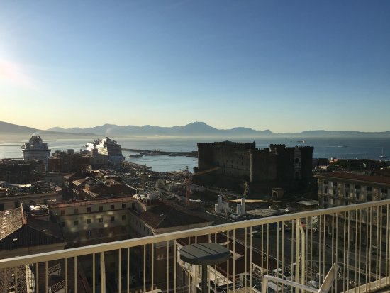 Renaissance Naples Hotel Mediterraneo : good for a great start into a new day