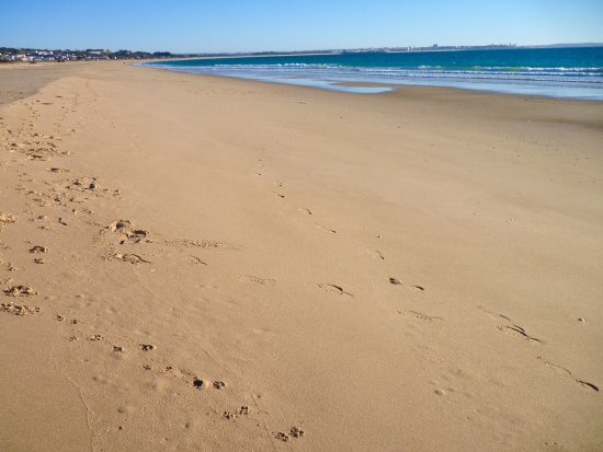 Meia Praia - a strip of sand and nothing else