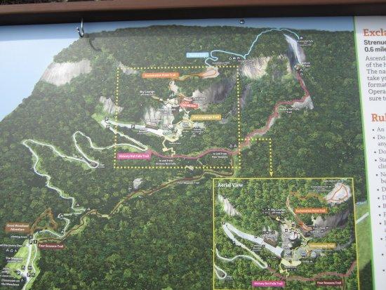 Chimney Rock, Северная Каролина: the hikes