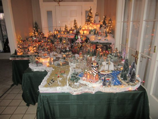 Christmas Village Display.2nd Floor Christmas Village Display Picture Of The