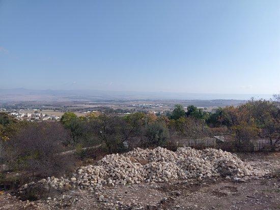 Rosh Pina, Israel: נוף עוצר נשימה של החרמון, גולן ועמק החולה
