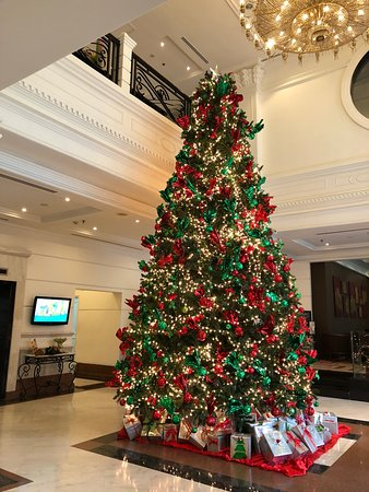 Beautiful Christmas Tree Picture Of Movenpick Hotel Hanoi