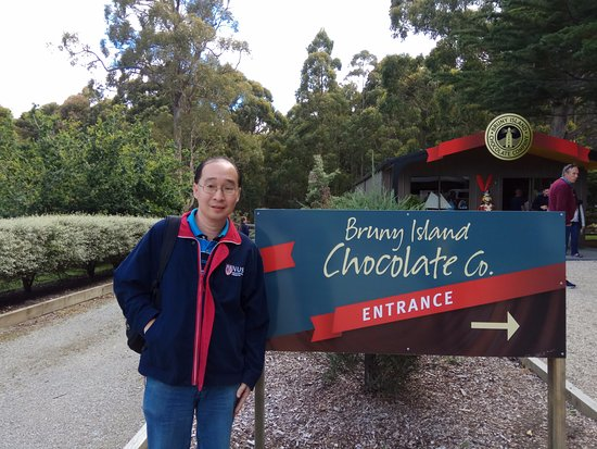 Visited the Bruny Island Chocolate Company~