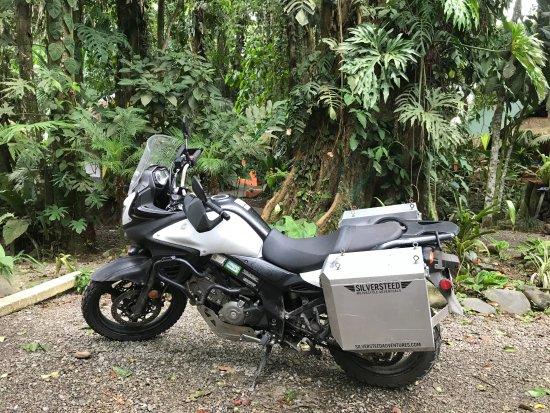Cariblue Beach & Jungle Resort: Great Adventure on Motorcycle