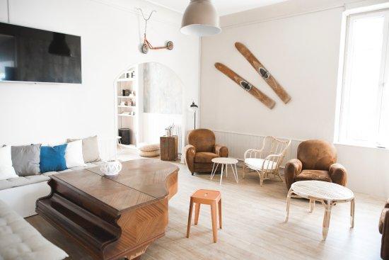 Lion-sur-mer, Frankrijk: Notre salon...